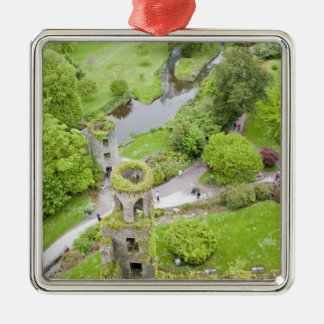 Cork, Ireland. The infamous Blarney Castle Christmas Ornament