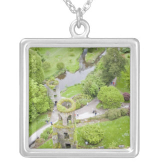Cork, Ireland. The infamous Blarney Castle Silver Plated Necklace