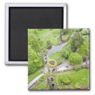 Cork, Ireland. The infamous Blarney Castle Square Magnet