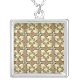 Cork Melted Butter Personalized Necklace