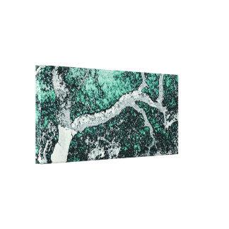 Cork oak digital art style prints Japanese Canvas Print