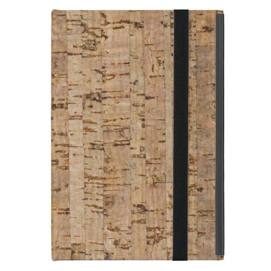 Cork oak pattern iPad mini case