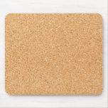 Cork texture mousemat