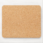 Cork texture mousepad
