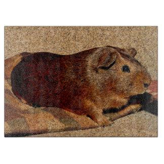 Corkboard Look Guinea Pig Cutting Boards