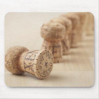 Corks, close-up mouse mat