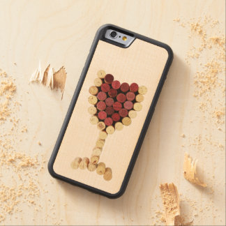 Corks Wine Glass iPhone & Samsung Galaxy Wood Case