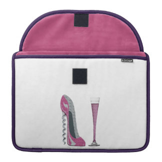 Corkscrew Stiletto, Champagne MacBook Flap Sleeve Sleeve For MacBooks