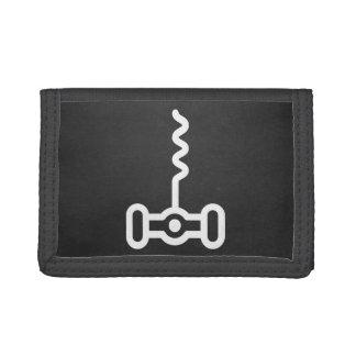 Corkscrews Minimal Trifold Wallet