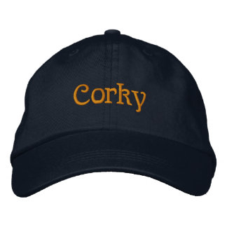 Corky Embroidered Hat