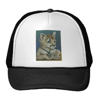 Corky the cougar trucker hat