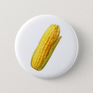 corn 6 cm round badge