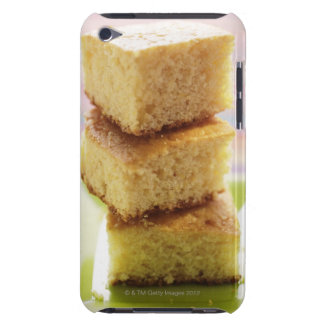 Corn bread, cut into cubes (in a pile) iPod touch Case-Mate case