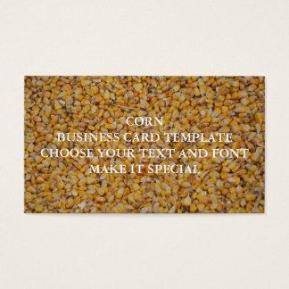 CORN BUSINESS CARD TEMPLATE