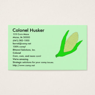 Corn Business cards