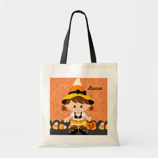 Corn Candy Little Witch Girl Trick or Treat Cute