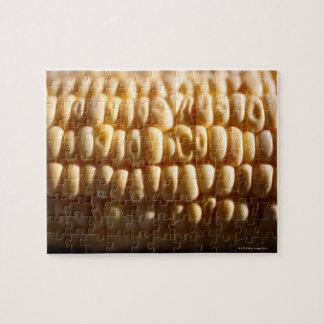 Corn close-up jigsaw puzzle