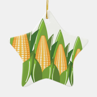 Corn Cob Christmas Ornament
