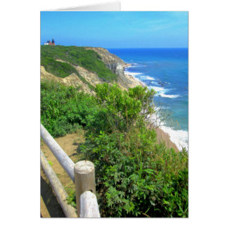 Corn Cove Cliff Path Card