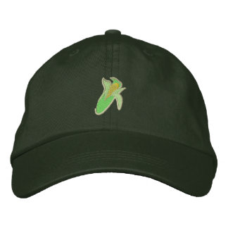 Corn Embroidered Baseball Cap