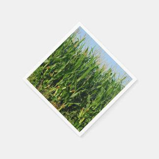 Corn Field Disposable Napkin