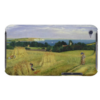 Corn Field in the Isle of Wight iPod Case-Mate Cases