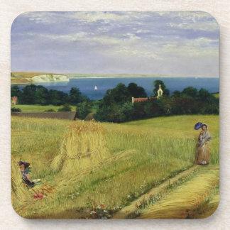 Corn Field in the Isle of Wight Coaster