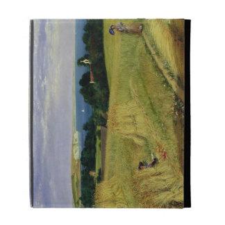 Corn Field in the Isle of Wight iPad Case