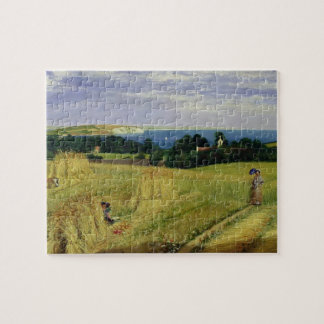 Corn Field in the Isle of Wight Jigsaw Puzzle