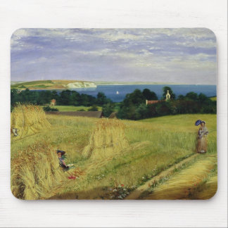 Corn Field in the Isle of Wight Mouse Pad