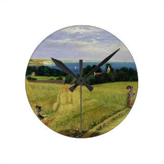 Corn Field in the Isle of Wight Wall Clock