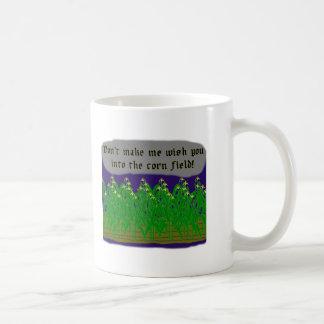 Corn Field Wish Basic White Mug