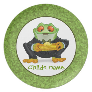 Corn frog plate