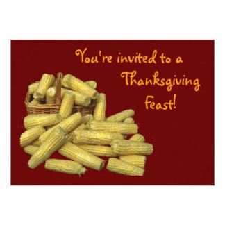 Corn Harvest Thanksgiving Announcements