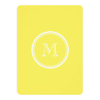 Corn High End Colored Personalized 14 Cm X 19 Cm Invitation Card