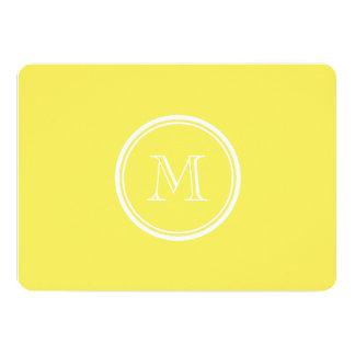 Corn High End Colored Personalized 5x7 Paper Invitation Card