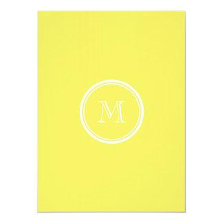 Corn High End Colored Personalized 5.5x7.5 Paper Invitation Card