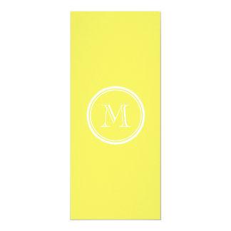 Corn High End Colored Personalized 10 Cm X 24 Cm Invitation Card