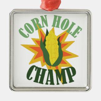 Corn Hole Champ Christmas Ornament