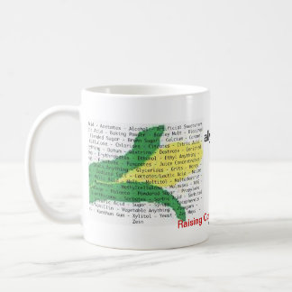 Corn is in everything - corn allergen list coffee mug