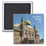 Corn Palace Square Magnet