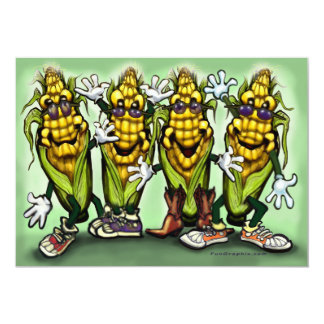 Corn Party Card
