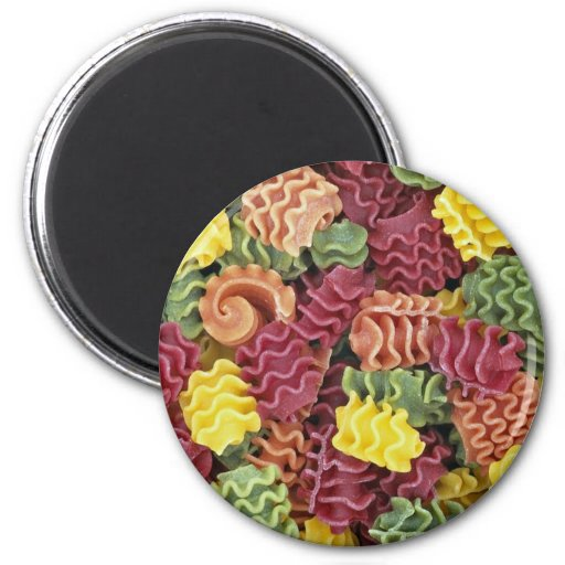 Corn pasta magnets