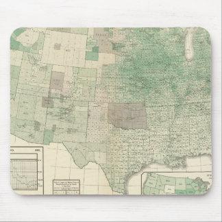 Corn per acre planted mouse pad