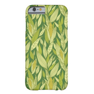 Corn plants pattern background barely there iPhone 6 case
