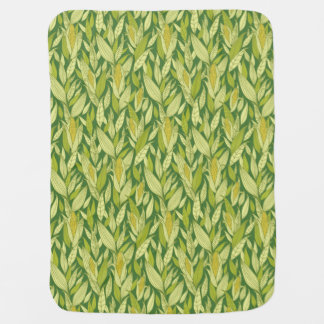 Corn plants pattern background buggy blankets