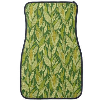 Corn plants pattern background car mat