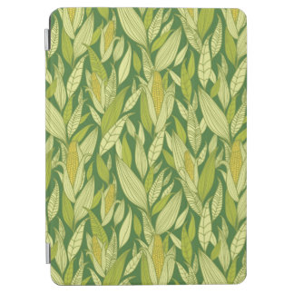 Corn plants pattern background iPad air cover
