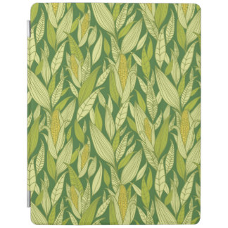 Corn plants pattern background iPad cover