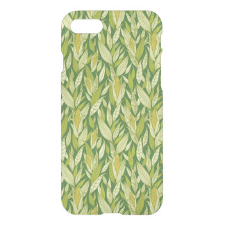 Corn plants pattern background iPhone 8/7 case